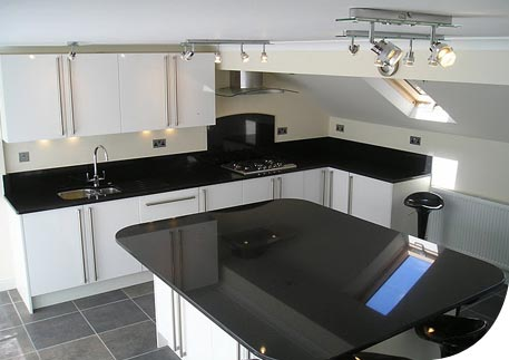 Photo of Mr and Mrs Ps completed kitchen